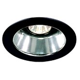 "4"" Specular Cone with Black Trim Ring in White"