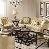 Classic Elegance Sofa and Chair Set