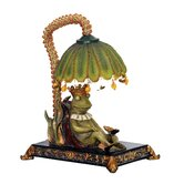 Sleeping King Frog Lamp