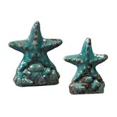 Ceramic Star Fish (Set of 2)