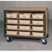 1000 Series Tote Tray Mobile Cabinet
