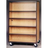 4000 Series DF Bookcase Mobile Cabinet