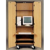 4000 Series Computer Center Mobile Cabinet