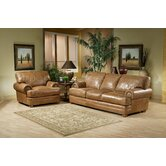Houston Leather Living Room Set
