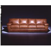 Prescott  4 Seat Sofa Leather Living Room Set