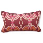 Bohemian Chic Ikat Long Pillow