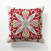 Provence Rouge Tile Pillow