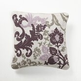 Baroque and Roll Luminaria Pillow in Plum