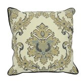 Versailles Cotton Marquee Accent Pillow