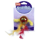 Screw Ball Cat Toy