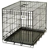 Pet Lodge Small Wire Crate in Black