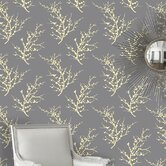 Edie Temporary Wallpaper in Lemon Ash