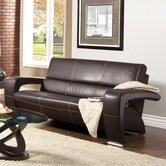 Nova Leatherette Sofa