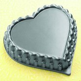 "Kaisercast 7"" Heart Shaped Flan Pan"