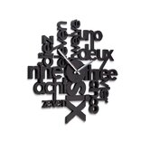 Lingua Wall Clock
