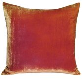 Ombre Decorative Pillow in Pink / Gold