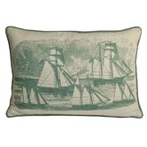 Sailboats South Pacific Decorative Pillow