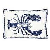 Lobster Decorative Pillow