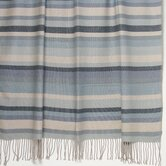Kevin O'Brien Striped 2-Ply Cashmere/Merino Throw