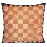 Checkers Gameboard Decorative Pillow