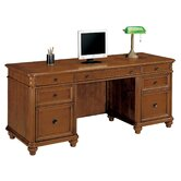 Antigua Kneehole Credenza