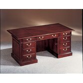 Keswick 72&quot; W Executive Desk with Optional File and Bookcase