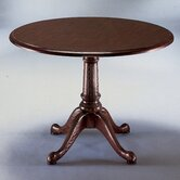 "Governor's 48"" Round Queen Anne Conference Table"