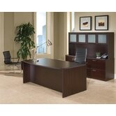 Fairplex Executive Standard Desk Office Suite with Glass Door