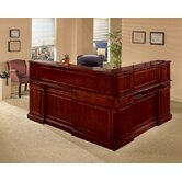 Keswick L-Shape Reception Desk with Right Return