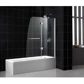 Aqua Frameless Hinged Tub Door