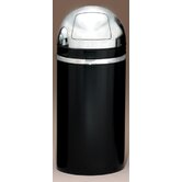 Metal Series Monarch 15 Gallon Dome Top Trash Can