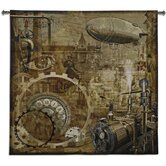 Steampunk BW Wall Hanging