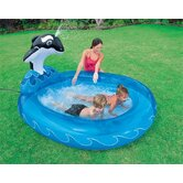 Spray N Splash Whale Pool
