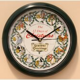 12 Days of Christmas Clock