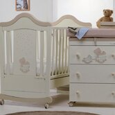 Nursery Room Set in Honey and Cream Gioiellino