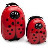 2 Piece Lola LadyBug Children's Luggage Set