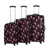 Tinker Bell 3 Piece Spinner Luggage Set