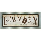 Comfort Plush Loads of Laundry Doormat
