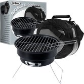 Portable Chill and Grill BBQ Set with Chiller