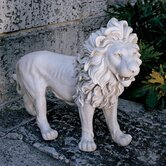 Regal Lion Sentinel of Grisham Manor Statue