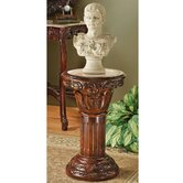 Imperia Inlaid Pedestal Plant Stand
