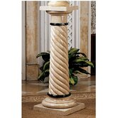 Bottochino Spiraled Pedestal Plant Stand