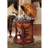 Sixteenth Century Italian Replica Globe Bar