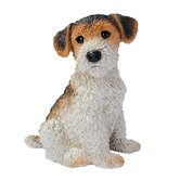 Fox Terrier Puppy Dog Statue