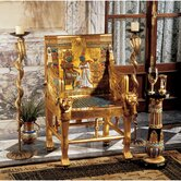 King Tutankhamen's Egyptian Throne Arm Chair