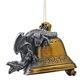 Humdinger the Bell Ringer Gothic Dragon 2011 Holiday Ornament