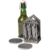 Medieval Norman Warriors Coaster Set