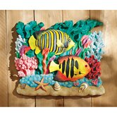 The Great Barrier Reef Fish Wall Sculpture: Royal Angelfish
