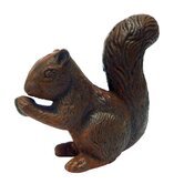 Bushy - Tailed Squirrel Statue