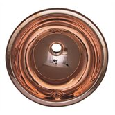 Decorative Drop-in Smooth Round Basin